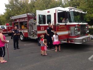 Roseville Fire Engine